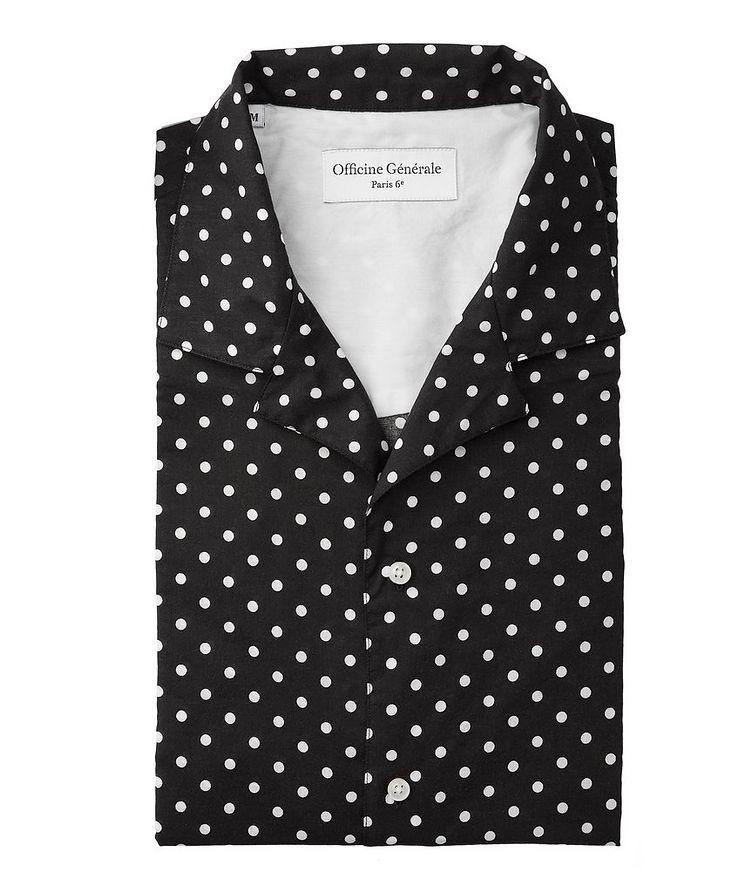 Dario Polka-Dot Cotton Shirt image 0