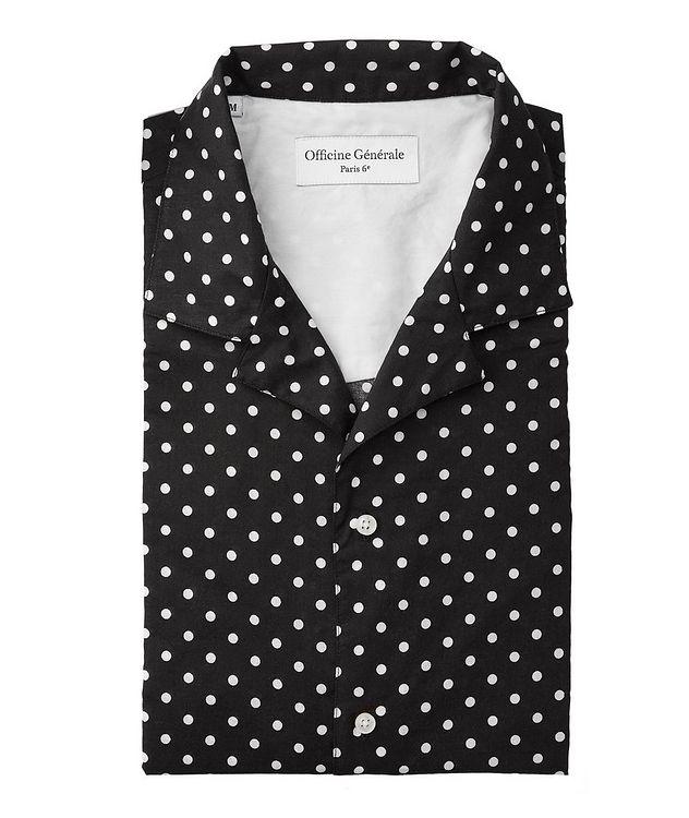 Dario Polka-Dot Cotton Shirt picture 1