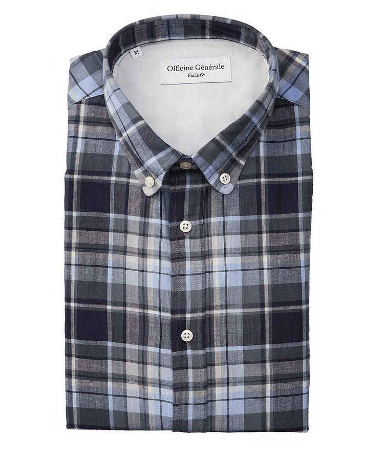Antime Plaid Cotton Shirt image 0