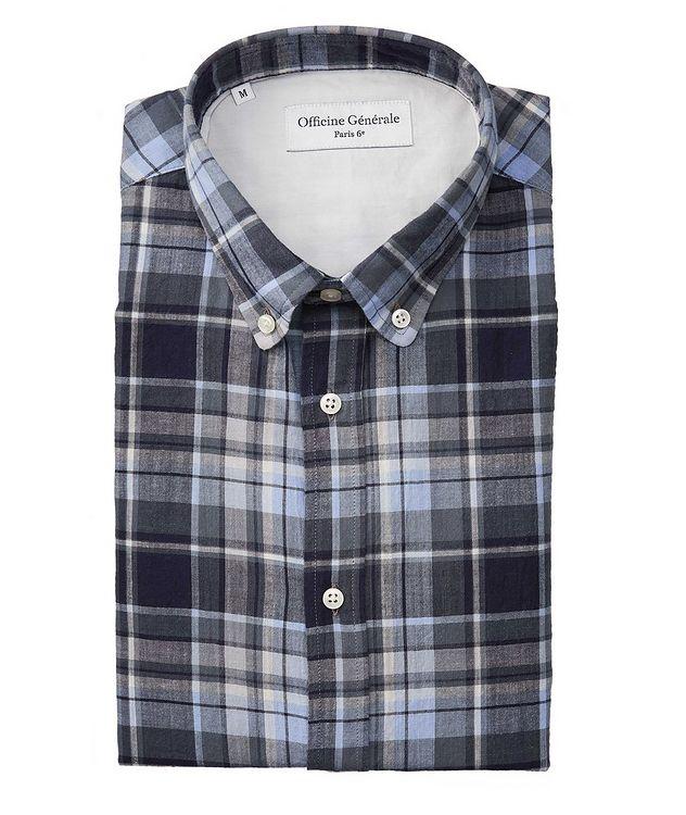 Antime Plaid Cotton Shirt picture 1