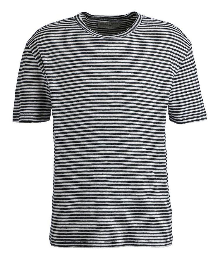 Striped Linen T-Shirt image 0