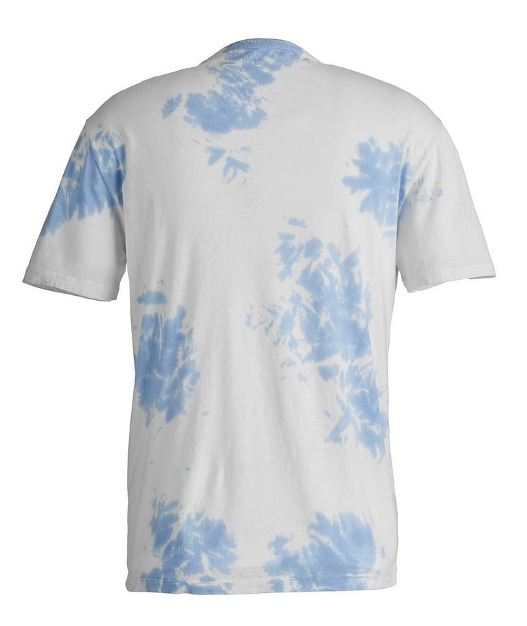 Tie-Dyed Cotton T-Shirt image 1