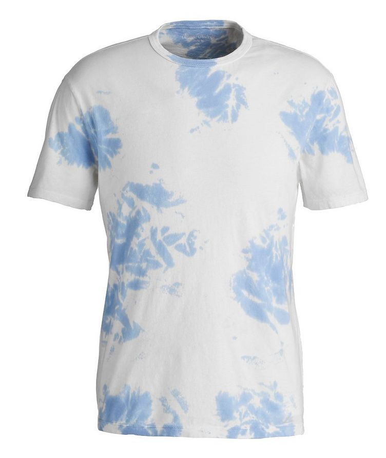 Tie-Dyed Cotton T-Shirt image 0