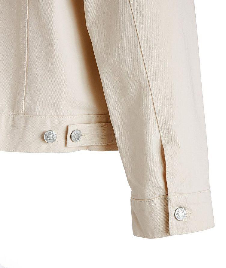 Leo Organic Cotton Trucker Jacket image 3