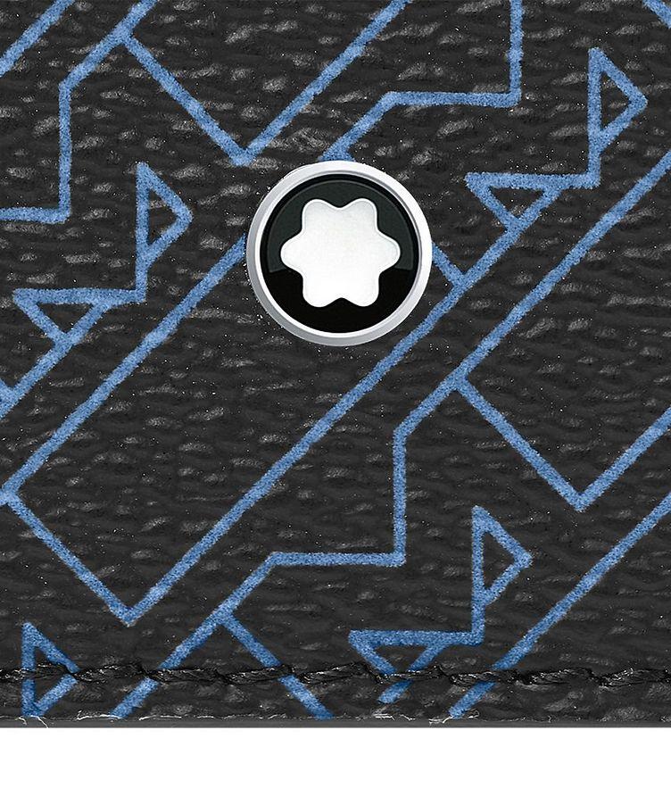 M_Gram Printed Leather Zippered Cardholder image 1