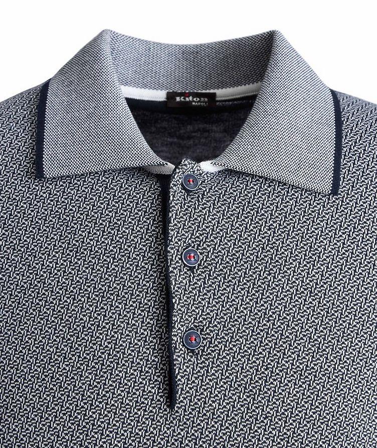 Knit Cotton Polo image 2