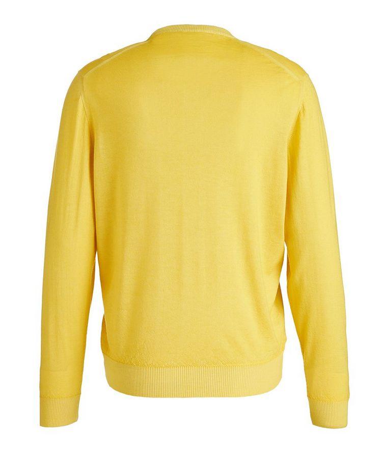 Textured Cashmere-Silk Sweater image 1