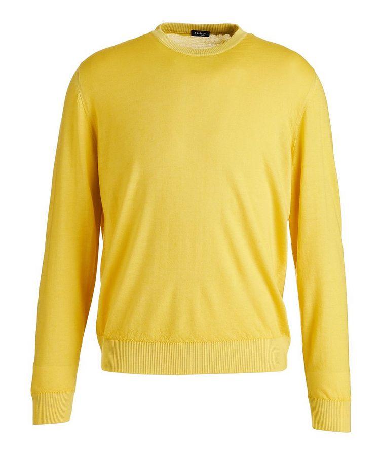 Textured Cashmere-Silk Sweater image 0