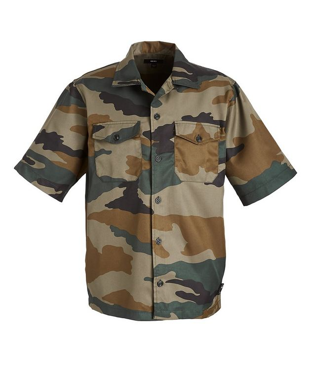 S-Wolf-Camu Short-Sleeve Shirt picture 1
