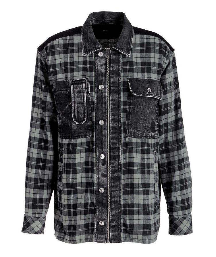 S-Servin Plaid Shirt image 0
