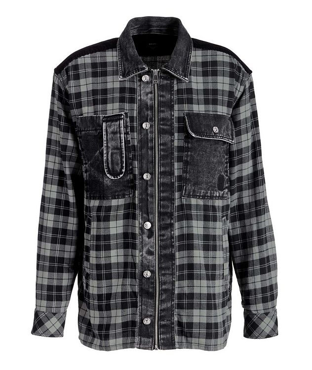 S-Servin Plaid Shirt picture 1