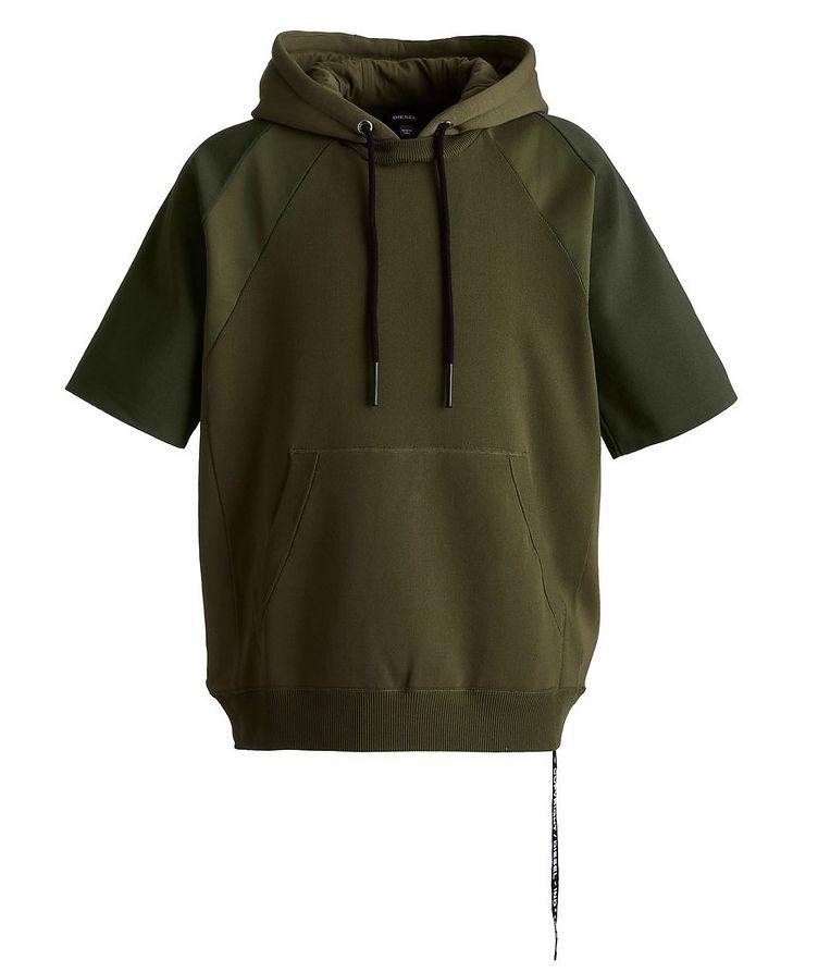 K-Milky Short-Sleeve Knit Hoodie image 0