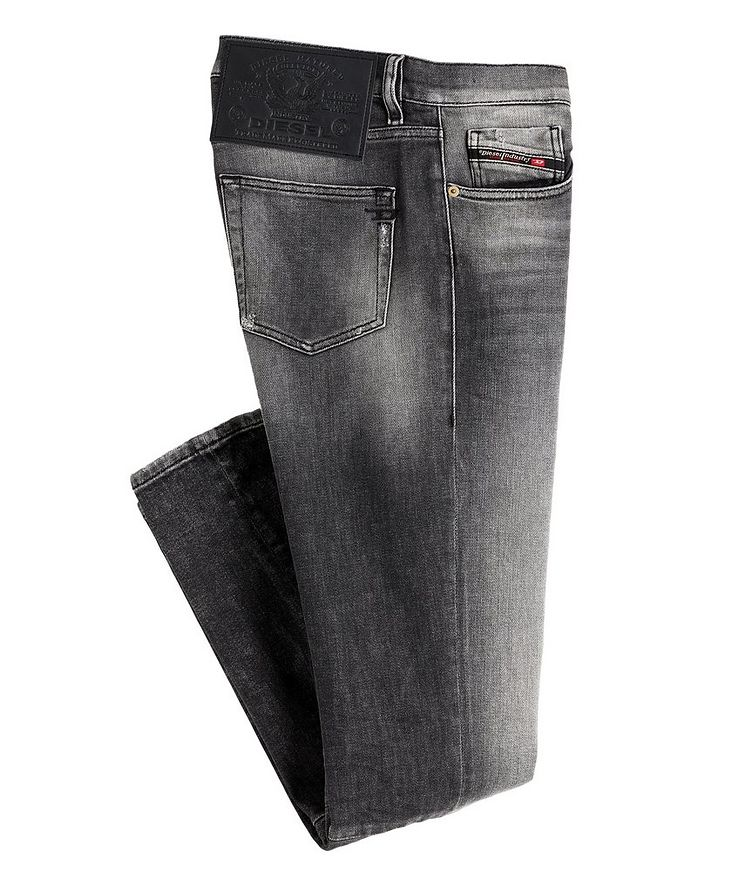 D-Strukt Slim Fit Distressed Stretch Jeans image 0