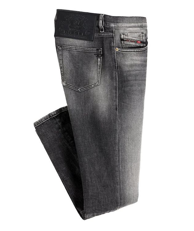 D-Strukt Slim Fit Distressed Stretch Jeans picture 1