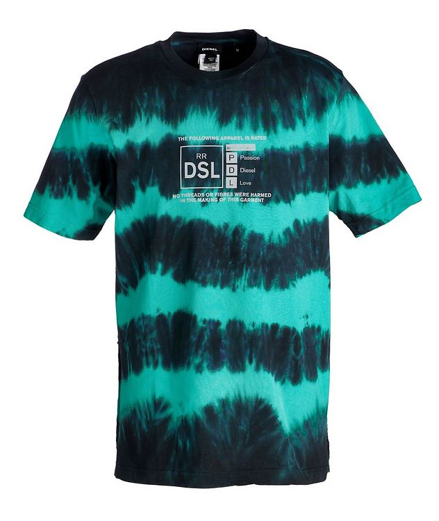 Tie-Dyed Cotton T-Shirt picture 1