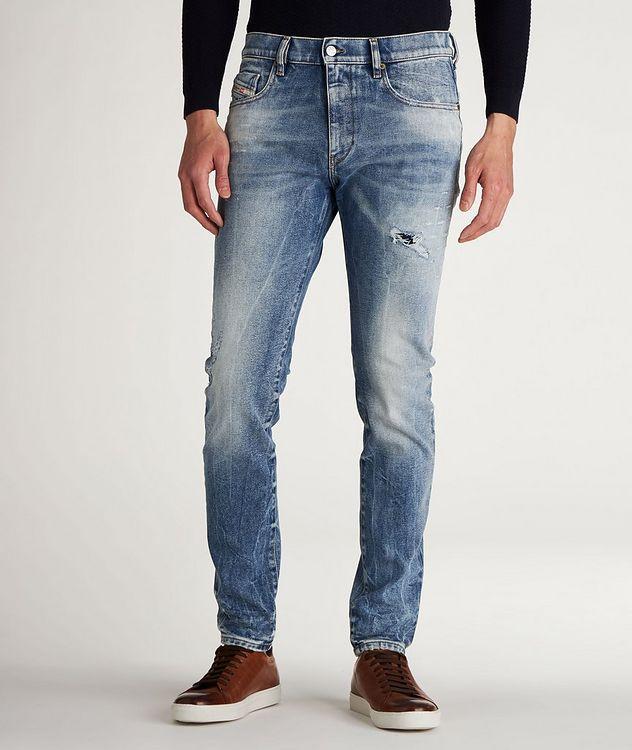 D-Strukt Slim Fit Distressed Jeans picture 2