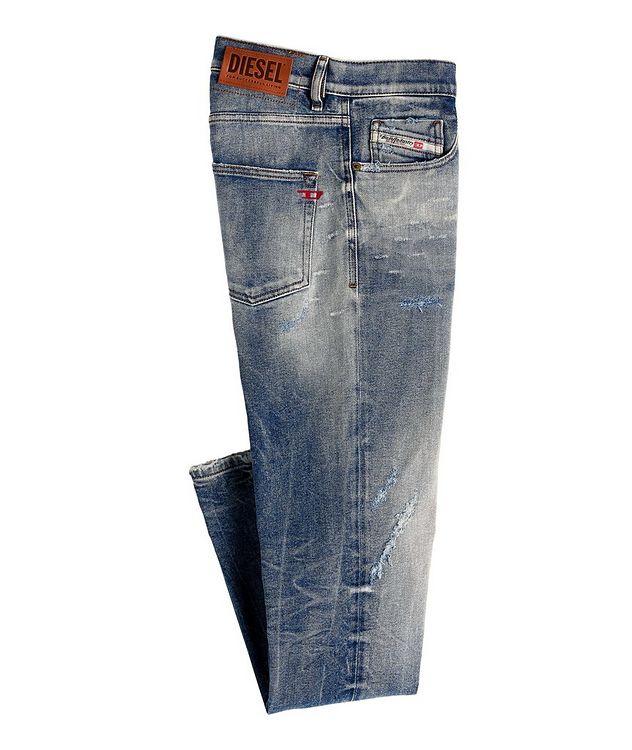D-Strukt Slim Fit Distressed Jeans picture 1