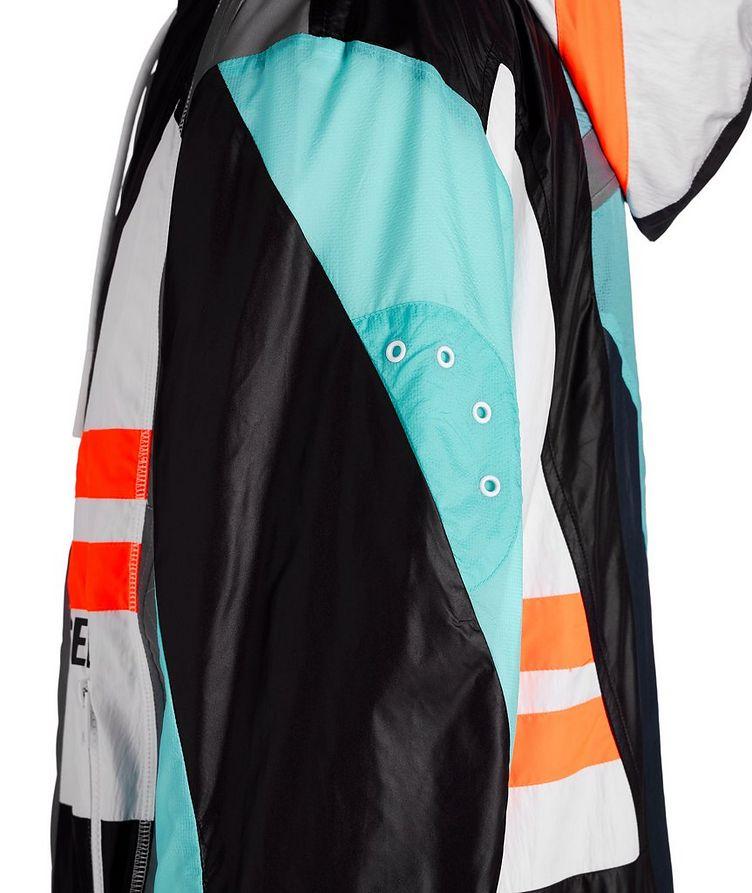 J-Edward Deconstructed Patchwork Hooded Jacket image 3