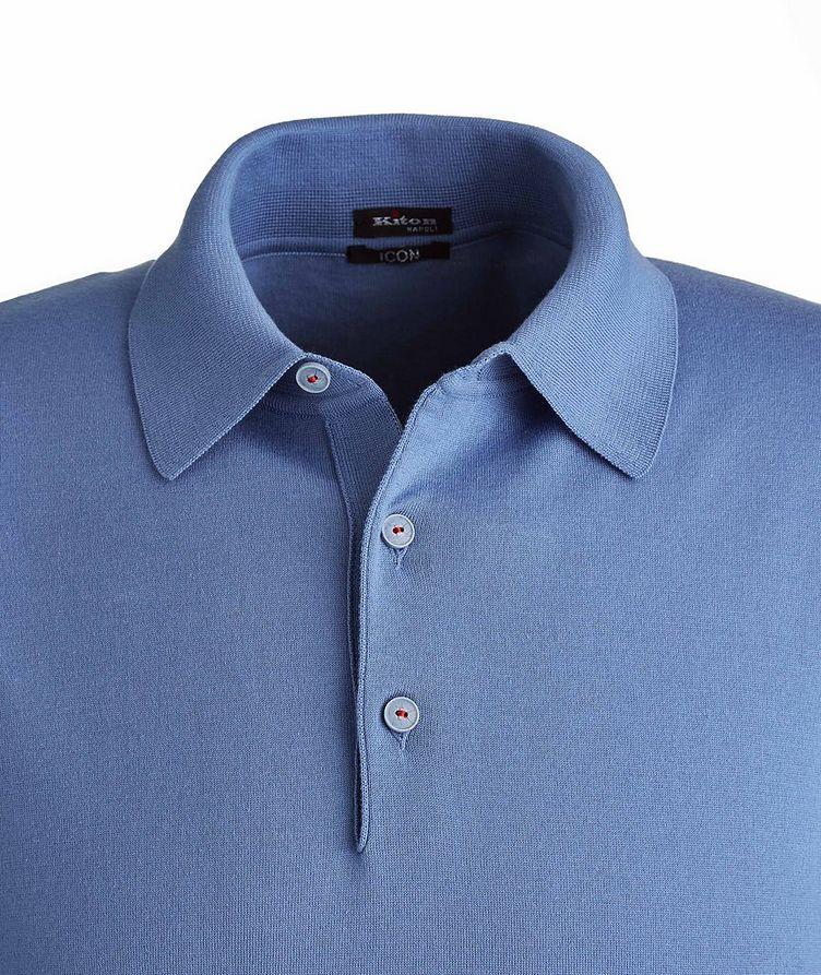 Knit Cotton Polo image 1