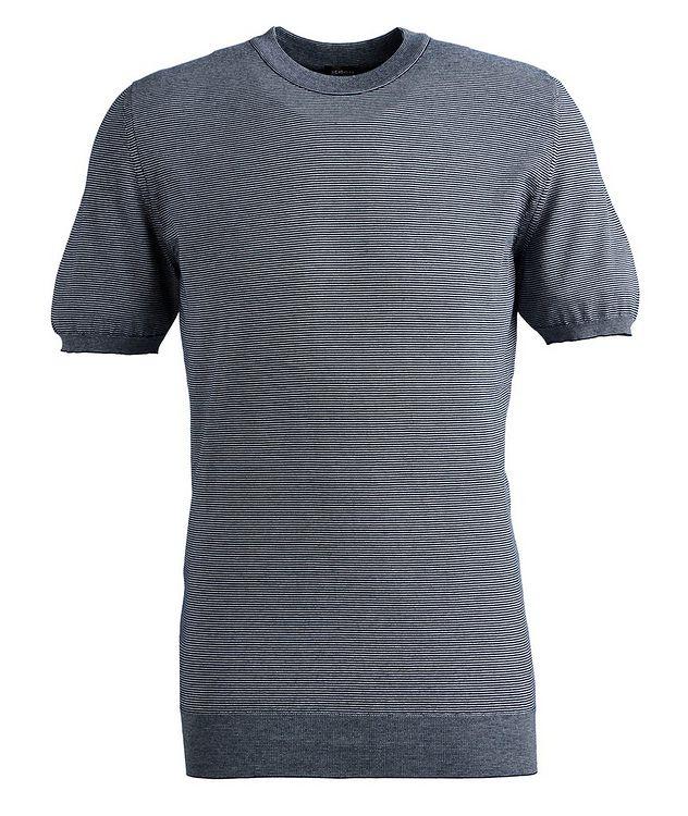 Slim-Fit Cotton T-Shirt picture 1