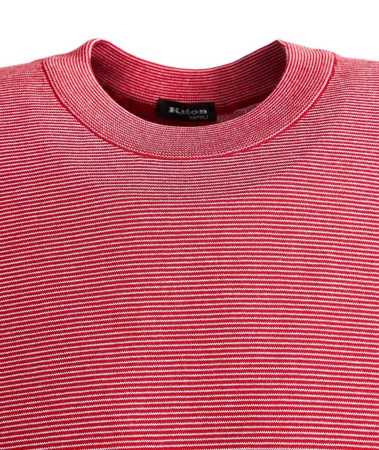 Slim-Fit Cotton T-Shirt image 1