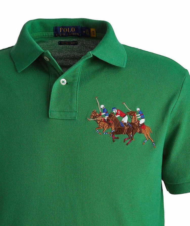 Slim-Fit Piqué Cotton Polo image 1
