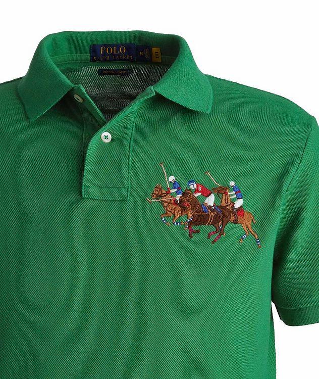 Slim-Fit Piqué Cotton Polo picture 2