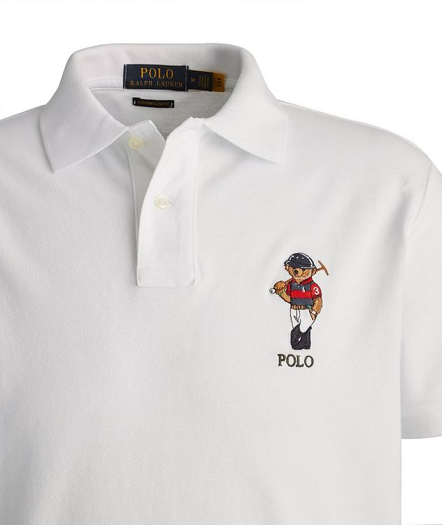 Slim-Fit Piqué Cotton Polo picture 2