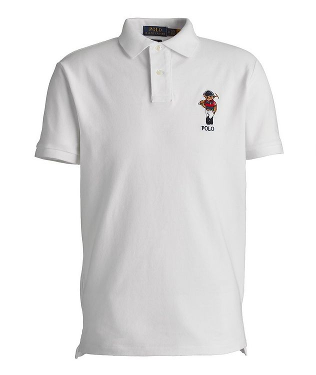Slim-Fit Piqué Cotton Polo picture 1