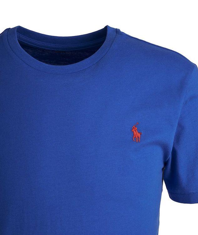 Slim-Fit Cotton-Blend T-Shirt picture 2