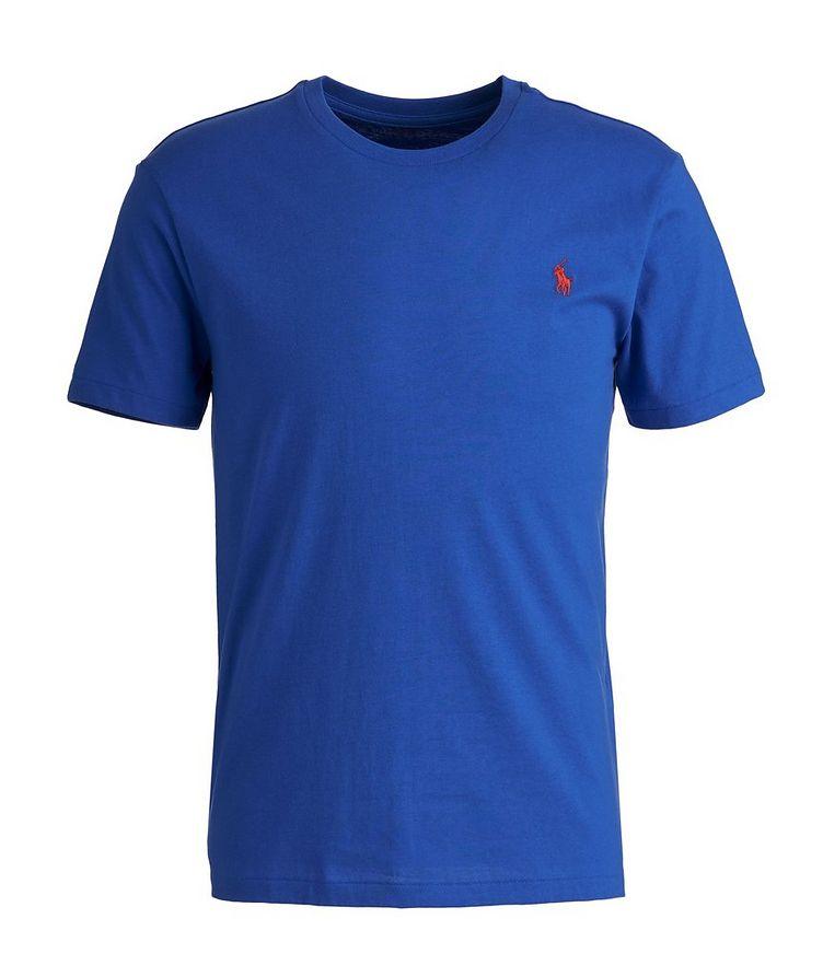 Slim-Fit Cotton-Blend T-Shirt image 0