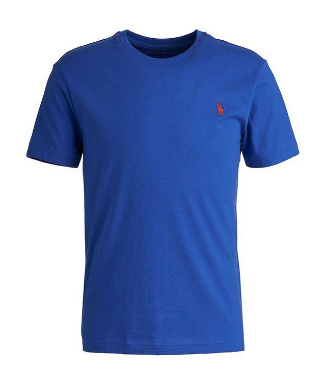 Slim-Fit Cotton-Blend T-Shirt picture 1