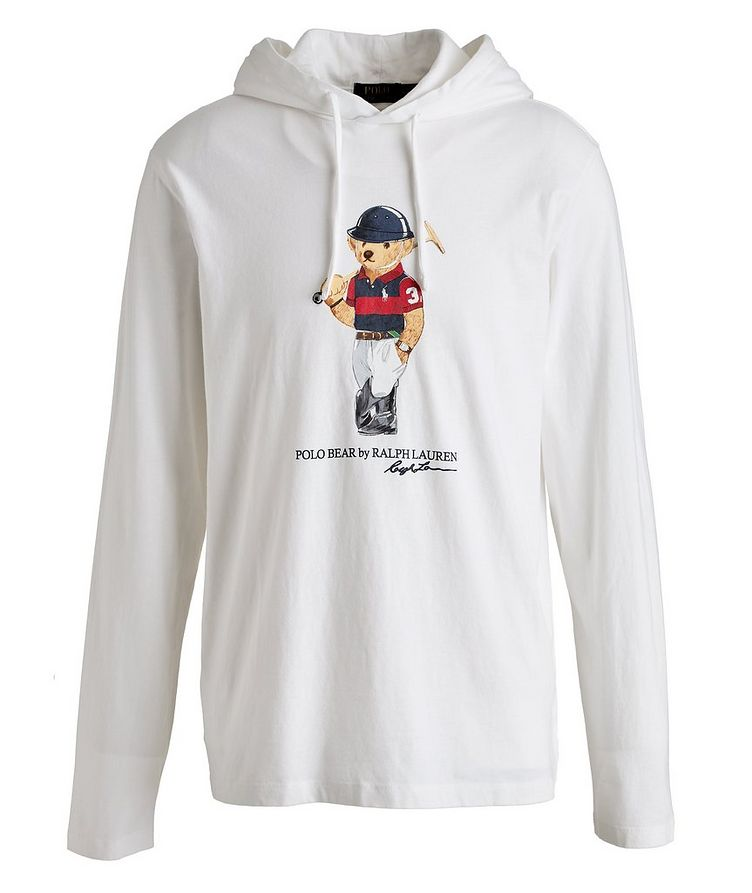 Polo Bear Jersey Cotton Hoodie image 0