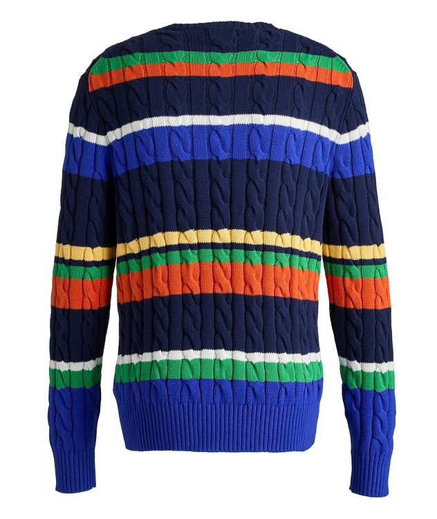 Cable-Knit Cotton Sweater picture 2