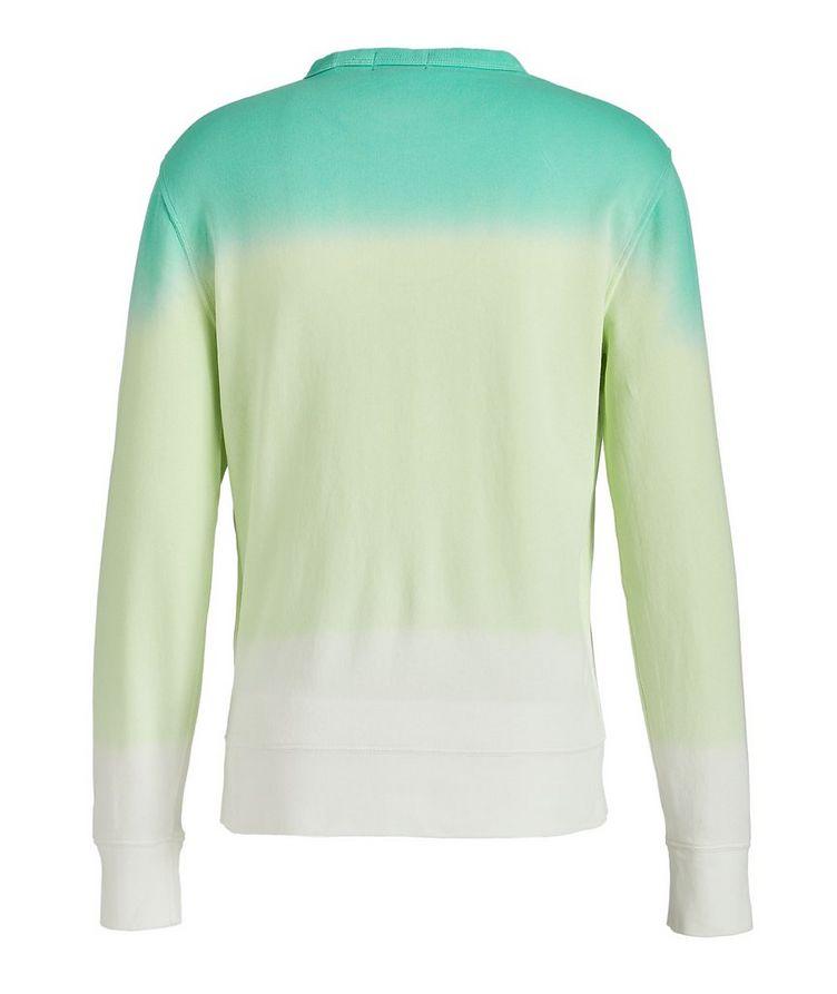 Dip-Dyed Cotton Sweatshirt image 1