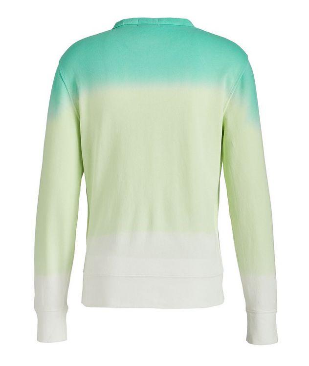Dip-Dyed Cotton Sweatshirt picture 2