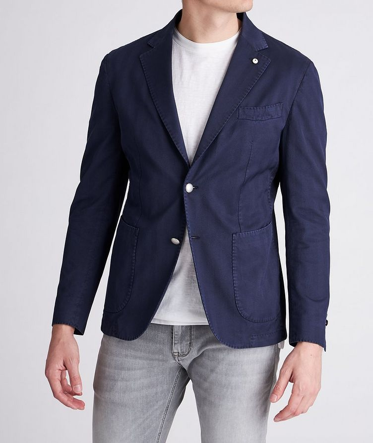 Slim-Fit Stretch-Cotton Sports Jacket image 1