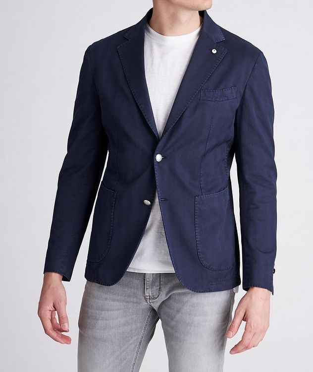 Slim-Fit Stretch-Cotton Sports Jacket picture 2