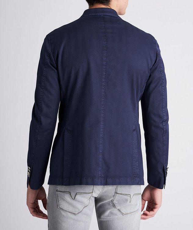 Slim-Fit Stretch-Cotton Sports Jacket picture 3