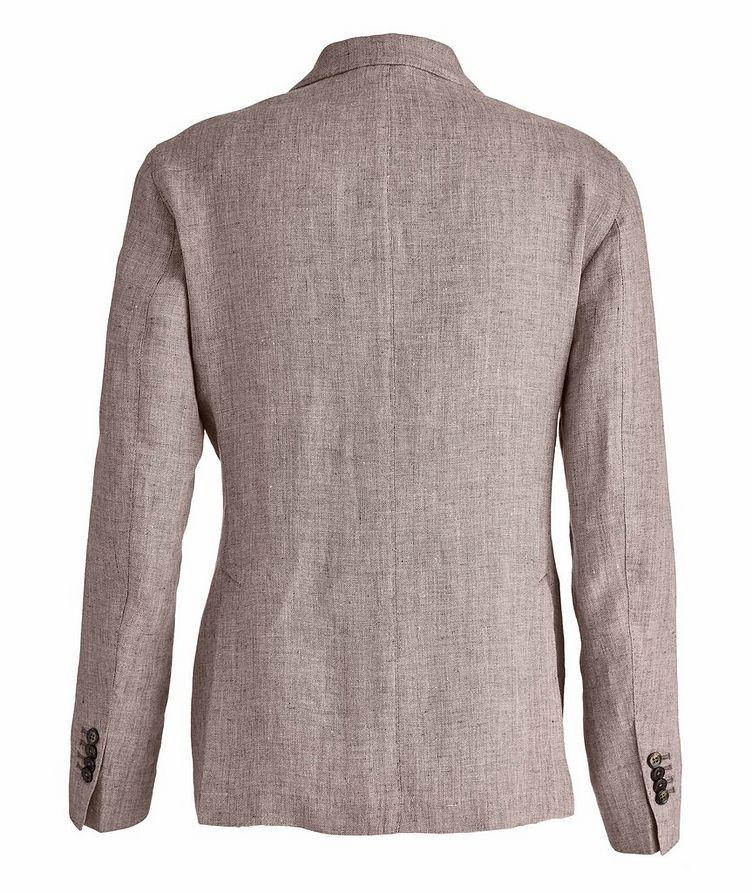 Slim-Fit Herringbone Linen Sports Jacket image 1