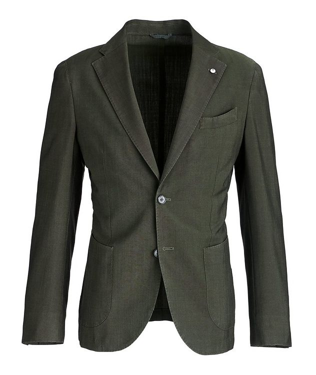 Slim-Fit Wool-Mohair Sports Jacket picture 1