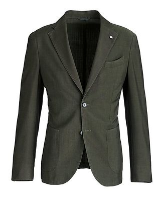 L.B.M. 1911 Slim-Fit Wool-Mohair Sports Jacket