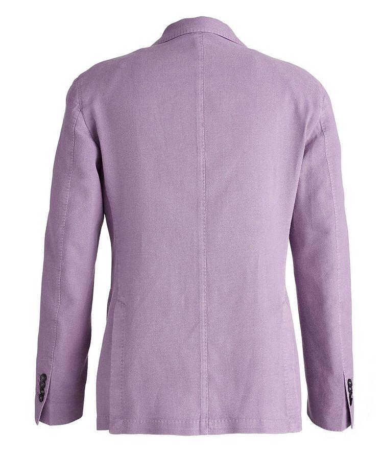 Piqué Cotton-Ramie Sports Jacket image 1