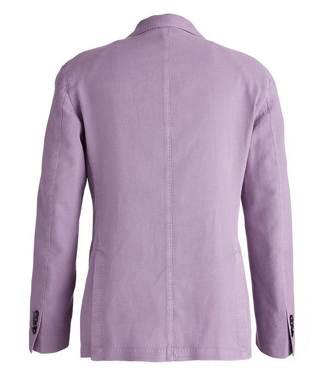 Piqué Cotton-Ramie Sports Jacket picture 2