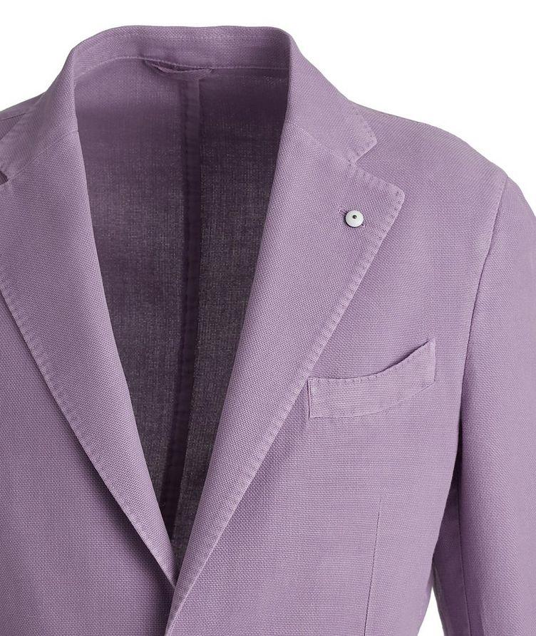 Piqué Cotton-Ramie Sports Jacket image 2