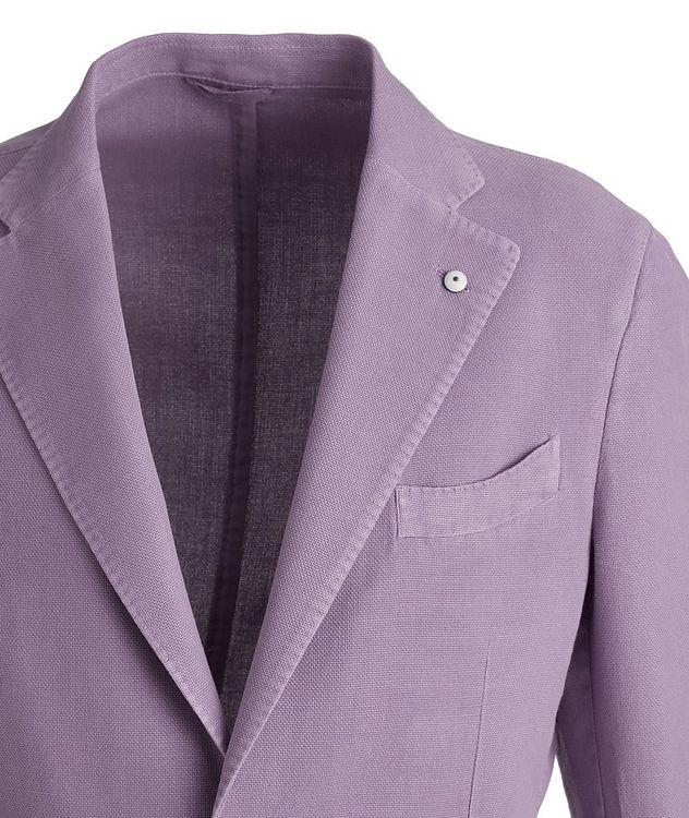 Piqué Cotton-Ramie Sports Jacket picture 3