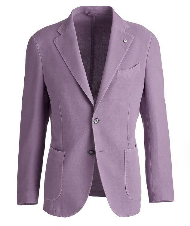 Piqué Cotton-Ramie Sports Jacket picture 1