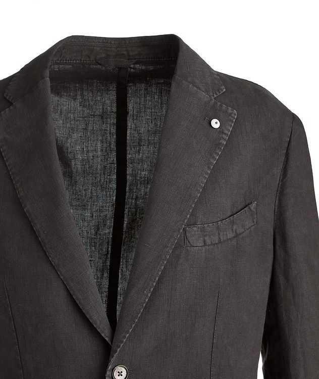 Linen Soft Structured Jacket picture 3