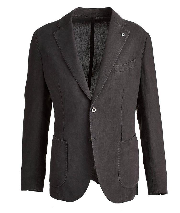 Linen Soft Structured Jacket image 0