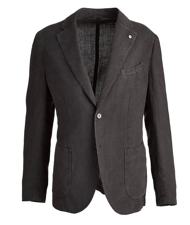 Linen Soft Structured Jacket picture 1